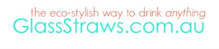 Logo GlassStraws.com.au