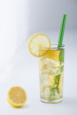 Everyday Green Glass Straw
